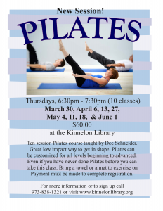 Pilates-March 2017!